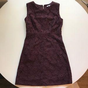 Diane Von Furstenberg Cocktail Dress Purple Size 2